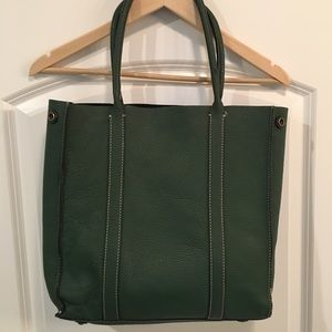 Jcrew Pebbled Leather Bag